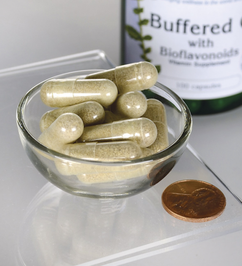 Buffered C-vitamin + bioflavonoid